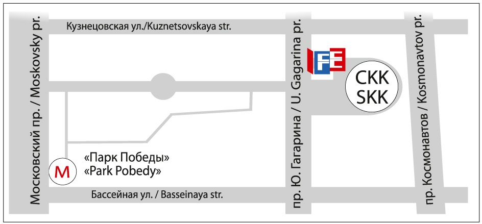 Петербургский СКК, пр. Юрия Гагарина,д. 8, ст. метро «Парк Победы»